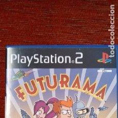 Videojuegos y Consolas: PS2 FUTURAMA IMPOLUTO. Lote 210391580