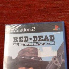 Videojuegos y Consolas: PS2 RED DEAD REVOLVER PRECINTADO. Lote 210403418