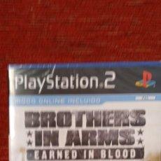 Videojuegos y Consolas: PS2 BROTHERS IN ARMS EARNED IN BLOOD PRECINTADO. Lote 210403638