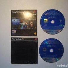 Videojuegos y Consolas: LOTE 2 DEMO DISC PLAYSTATION 2 - PBPX-95205 - ECCO THE DOLPHIN / REZ / HEADHUNTER / WILD WILD RACING. Lote 210416143