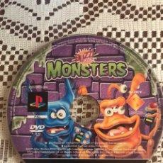 Videojuegos y Consolas: BUZZ JUNIOR MONSTERS PS2 SOLO DISCO. Lote 210525153