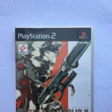 Videojuegos y Consolas: METAL GEAR SOLID 2: SONS OF LIBERTY PS2. Lote 210570287