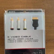 Videojuegos y Consolas: S VIDEO CABLE SONY PARA PS1, PS ONE, PS2 Y PS3. Lote 210653690