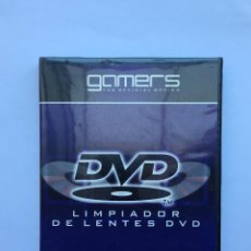 Videojuegos y Consolas: LIMPIADOR DE LENTES DVD. Lote 210657855