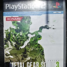 Videojuegos y Consolas: JUEGO METAL GEAR SOLID 3 PARA SONY PLAYSTATION 2. Lote 210782392
