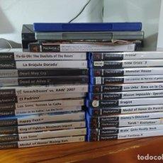 Videojuegos y Consolas: CONSOLA PLAYSTATION 2 SLIM + 25 JUEGOS - LOS DE LA FOTO ( ENVIO GRATIS) - PRECIO NO NEGOCIABLE. Lote 210788301