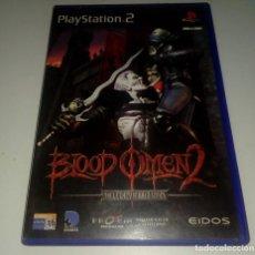 Videojuegos y Consolas: BLOOD OMEN 2 PS2 (VER DESCRIPCIÓN). Lote 210701375