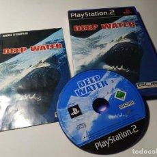 Videojuegos y Consolas: DEEP WATER ( PS2 - PLAYSTATION 2 - PAL - ESPAÑA). Lote 210813280