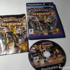 Videojuegos y Consolas: RATCHET : GLADIATOR ( PS2 - PLAYSTATION 2 - PAL - ESPAÑA). Lote 210813344