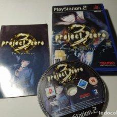 Videojuegos y Consolas: PROJECT ZERO 3: THE TORMENTED ( PS2 - PLAYSTATION 2 - PAL - ESPAÑA). Lote 210813507
