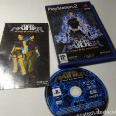 Videojuegos y Consolas: LARA CROFT TOMB RAIDER - EL ANGEL DE LA OSCURIDAD ( PS2 - PLAYSTATION 2 - PAL - ESPAÑA). Lote 210813620
