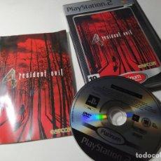Videojuegos y Consolas: RESIDENT EVIL 4 ( PS2 - PLAYSTATION 2 - PAL - ESPAÑA). Lote 210813692