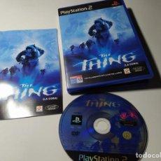 Videojuegos y Consolas: THE THING ( PS2 - PLAYSTATION 2 - PAL - ESPAÑA). Lote 210813922