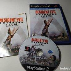 Videojuegos y Consolas: RESIDENT EVIL - OUTBREAK FILE #2 ( PS2 - PLAYSTATION 2 - PAL - ESPAÑA). Lote 210814112