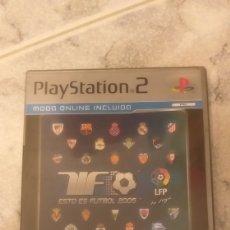 Videojuegos y Consolas: ESTO ES FÚTBOL 2005 PARA PS2 PLATINUM. Lote 210833874