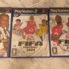 Videojuegos y Consolas: LOTE FIFA 2003 ,2004 Y 2005 PARA PS2. Lote 210834429