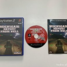 Videojogos e Consolas: MICHIGAN: REPORT FROM HELL PAL ESPAÑA PLAYSTATION 2. Lote 210840352