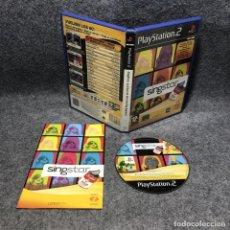 Videojuegos y Consolas: SINGSTAR LA EDAD DE ORO DEL POP ESPAÑOL SONY PLAYSTAITON 2 PS2. Lote 210961555