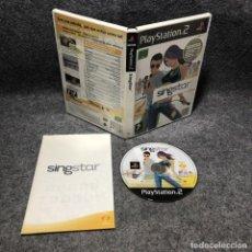 Videojuegos y Consolas: SINGSTAR SONY PLAYSTAITON 2 PS2. Lote 210961561