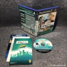 Videojuegos y Consolas: SINGSTAR POP HITS 40 PRINCIPALES SONY PLAYSTAITON 2 PS2. Lote 210961565