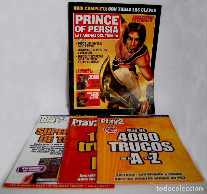 GUIA COMPLETA PRINCE OF PERSIA LAS ARENAS DEL TIEMPO PLAY2 MANIA MAS 4000 TRUCOS 1000 SUPERFICHAS (Juguetes - Videojuegos y Consolas - Sony - PS2)