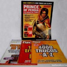 Videojuegos y Consolas: GUIA COMPLETA PRINCE OF PERSIA LAS ARENAS DEL TIEMPO PLAY2 MANIA MAS 4000 TRUCOS 1000 SUPERFICHAS. Lote 211420399