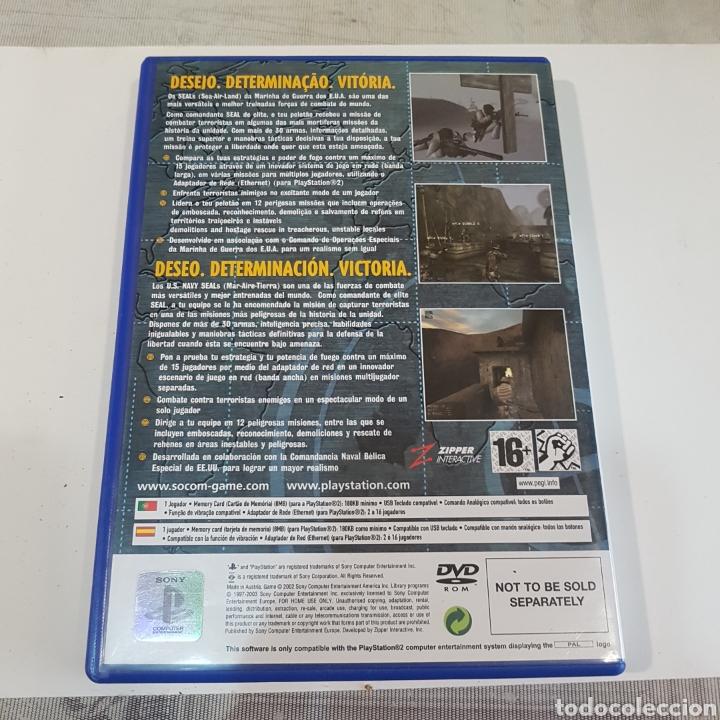 Videojuegos y Consolas: JUEGO PLAYSTATION 2 SOCOM U. S. NAVY SEALE - Foto 2 - 211595736