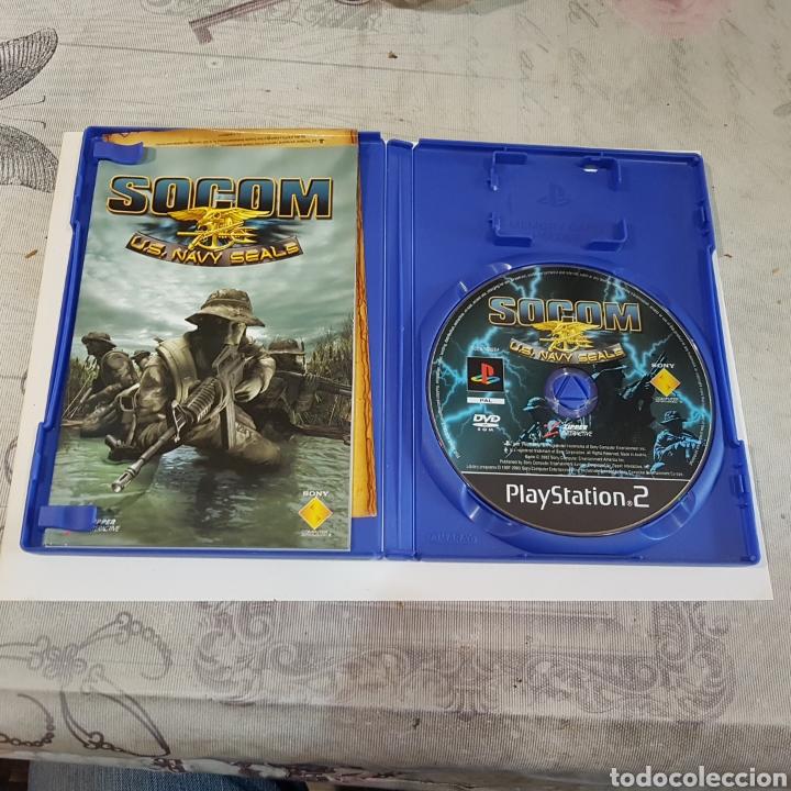 Videojuegos y Consolas: JUEGO PLAYSTATION 2 SOCOM U. S. NAVY SEALE - Foto 3 - 211595736