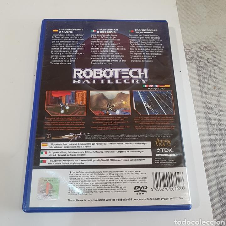 Videojuegos y Consolas: JUEGO PLAYSTATION 2 ROBOTECH BATTLECRY - Foto 2 - 211596345