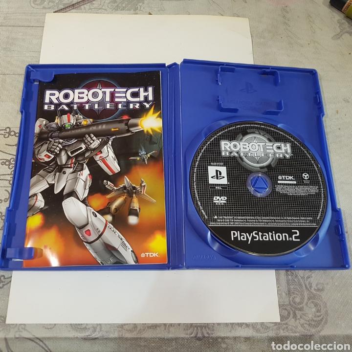 Videojuegos y Consolas: JUEGO PLAYSTATION 2 ROBOTECH BATTLECRY - Foto 3 - 211596345
