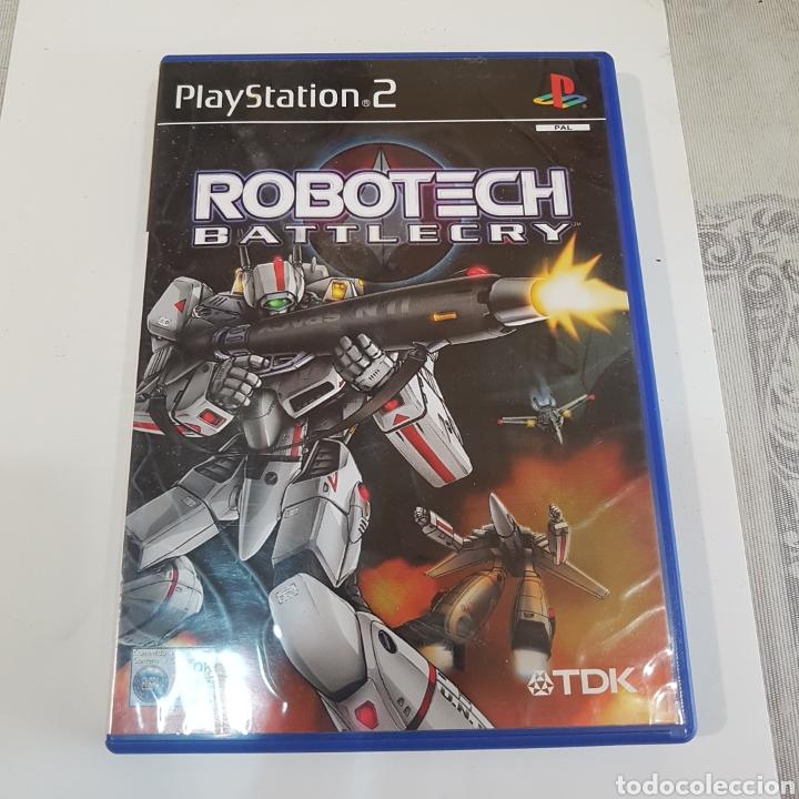JUEGO PLAYSTATION 2 ROBOTECH BATTLECRY (Juguetes - Videojuegos y Consolas - Sony - PS2)