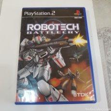 Videojuegos y Consolas: JUEGO PLAYSTATION 2 ROBOTECH BATTLECRY. Lote 211596345