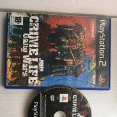 Videojuegos y Consolas: CRIME LIFE GANG WARS PS2 PLAYSTATION 2 PLAY STATION TWO KREATEN. Lote 211679894