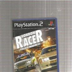 Videojuegos y Consolas: PLAYSTATION 2 LONDON RACER. Lote 212059245