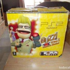 Videojuegos y Consolas: PLAYSTATION 2 VERSION LIMITADA BUZZ. CON CAJAS. SONY. Lote 212891717