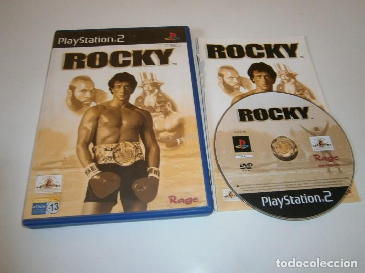ROCKY PLAYSTATION 2 PAL ESPAÑA COMPLETO (Juguetes - Videojuegos y Consolas - Sony - PS2)