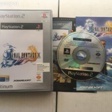Videojuegos y Consolas: FINAL FANTASY X PLATINUM FF 10 PS2 PLAYSTATION 2 PLAY STATION TWO KREATEN. Lote 214334557