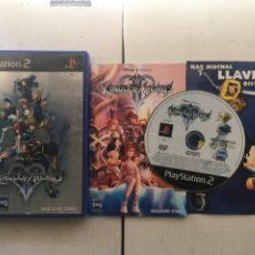 Videojuegos y Consolas: KINGDOM HEARTS II KINGDOMS HEART PS2 PLAYSTATION 2 PLAY STATION TWO KREATEN. Lote 214335046