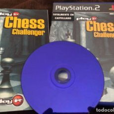 Videojuegos y Consolas: JUEGO PLAY STATION 2 AJEDREZ PLAY IT CHESS CHALLENGER. Lote 214545548
