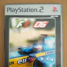 Videojuegos y Consolas: JUEGO PS2 PLAYSTATION 2: FORMULA ONE 06. EN ESPAÑOL. CON MANUAL. EDICIÓN PLATINUM.. Lote 216595303