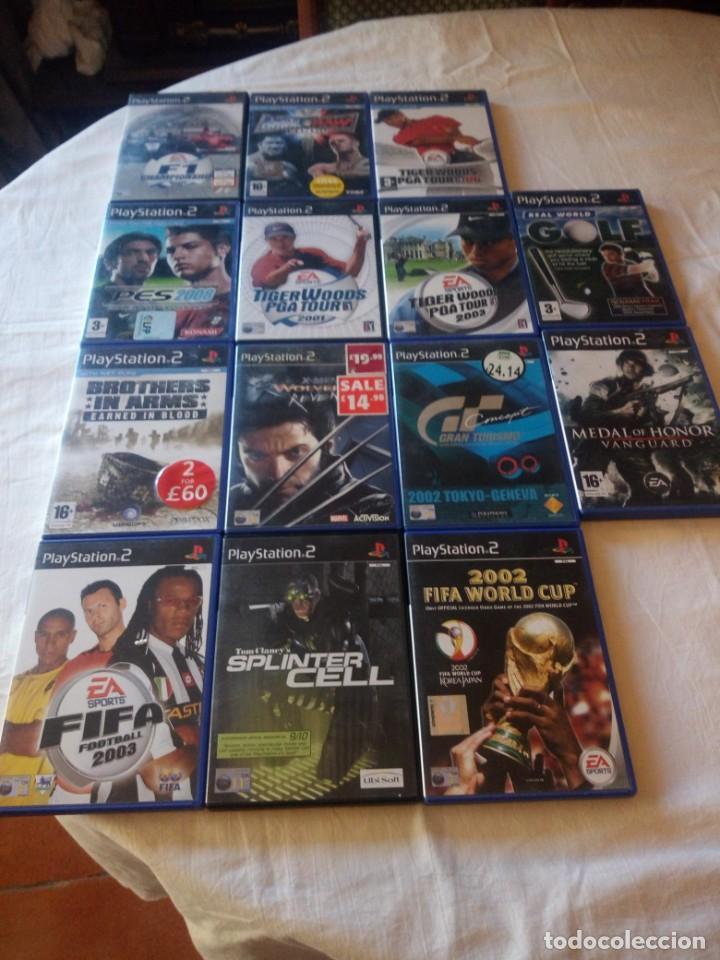 LOTE DE 14 JUEGOS DE PS 2,COMPLETOS. (Juguetes - Videojuegos y Consolas - Sony - PS2)