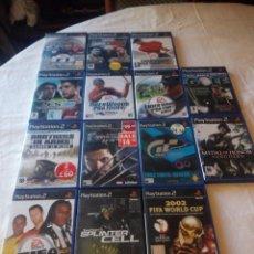 Videojuegos y Consolas: LOTE DE 14 JUEGOS DE PS 2,COMPLETOS.. Lote 217162456