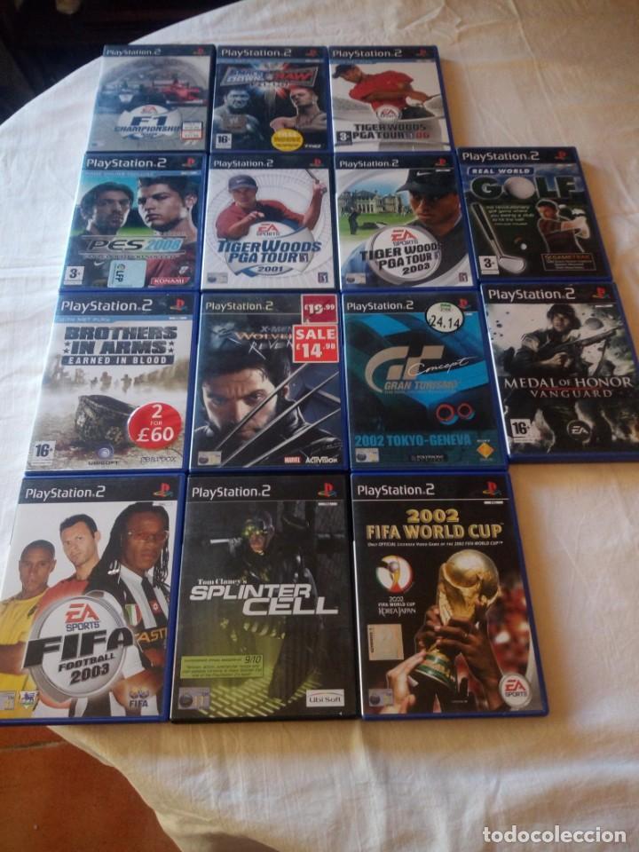 Videojuegos y Consolas: Lote de 14 juegos de ps 2,completos. - Foto 2 - 217162456