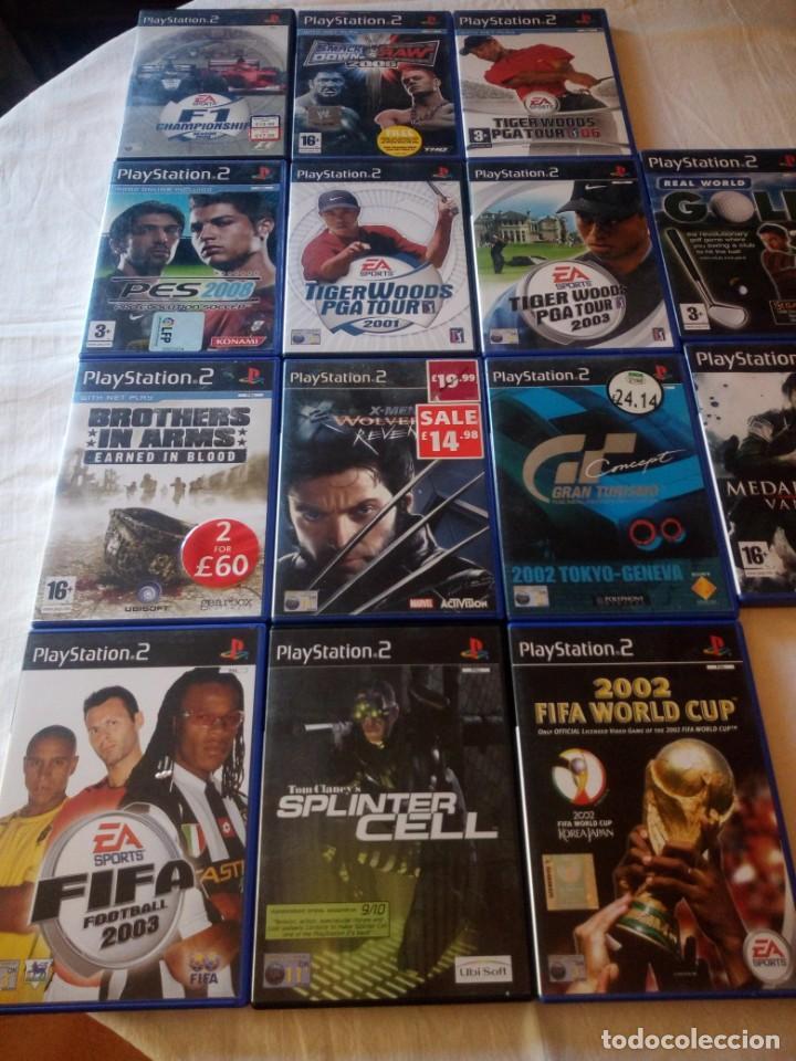 Videojuegos y Consolas: Lote de 14 juegos de ps 2,completos. - Foto 3 - 217162456
