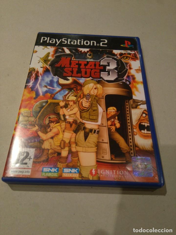 JUEGOS PLAYSTATION PS2 ,PLAY STATION METAL SLUG (Juguetes - Videojuegos y Consolas - Sony - PS2)