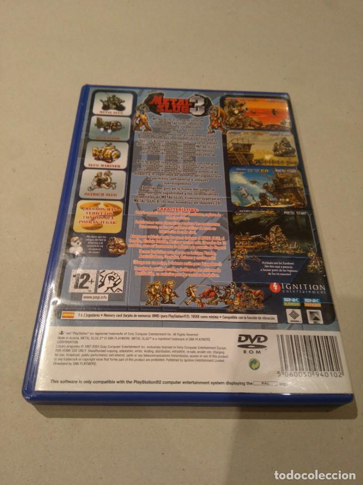 Videojuegos y Consolas: Juegos playstation ps2 ,play station metal slug - Foto 2 - 217831676