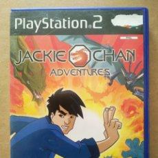 Videojuegos y Consolas: JUEGO PS2 PLAYSTATION 2 JACKIE CHAN ADVENTURES (EYE TOY/SONY, 2004). EN ESPAÑOL.. Lote 218008473