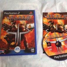 Videojuegos y Consolas: QUAKE III PS2 PLAY STATION 2 COMPLETO. Lote 218558057