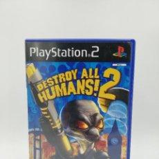 Videojuegos y Consolas: DESTROY ALL HUMANS!2 PS2. Lote 218684703