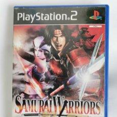Videojuegos y Consolas: SAMURAI WARRIORS PS2 SIN MANUAL. Lote 218705892